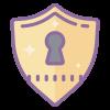 web design commerce puzzle lock icon