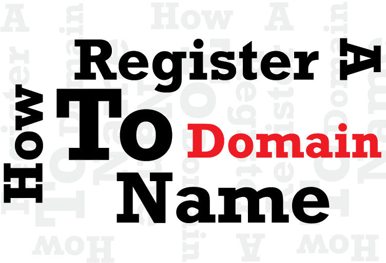 How To Register A Domain Name On Your Own