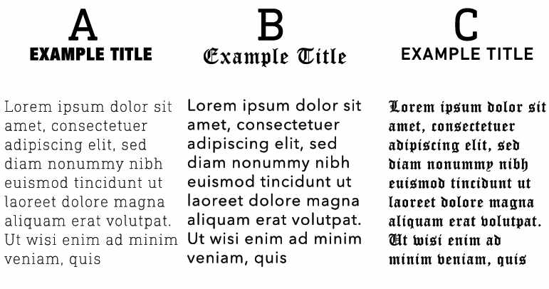 the basics of typography commerce puzzle font combo pack